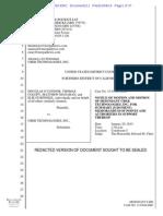 O'Connor Et Al v. Uber Technologies, Inc. Et Al 12.04.14 Defendant Motion for Summary Judgment