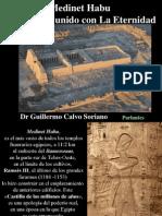 Medinet Habu, Ramsés III unido con La Eternidad