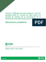 Paso Peatonal - Nota Técnica ITDP