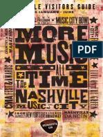 Nashville Visitors Guide Jan-June 2015