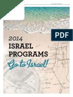 JTNews 2014 Israel Programs
