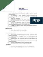 Resume of Satish 16122009
