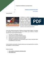 La Importancia Del Atletismo Como Deporte Básico