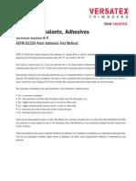 ASTM D3359 B-4 Paints Sealants Adhesives