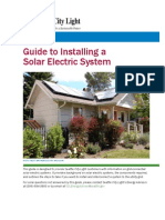 Guide to Installing a Solar Electric