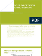 1.b. Mercado de Exportac. Sector No Metalico