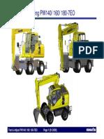 Testing&Adjusting PW140 160 180-7EO