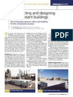 Constructing and Designing Blast-Resistant Buildings