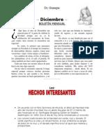 Boletin Mensual Diciembre 2014