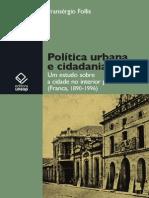 Politica Urbana e Cidadania (Follis, Fransérgio)