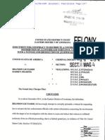 Darren Sharper and Brandon Licciardi federal Indictment
