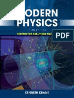Krane - Modern Physics 3rd c2012 Solutions ISM