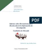 Informe Herramientas Sobre Informacion de Investigacion Cualitativa de Mercado Geraldine Gomez