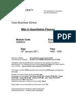 Derivatives Jan 11