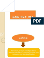 BAROTRAUMA ppt