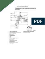 Componentes Principales Motor Fuera de Borda