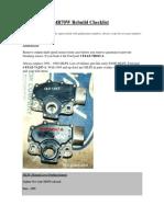 4R70W Rebuild Checklist