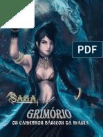 Saga - Grimório Os Caminhos Básicos Da Magia