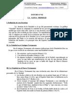 ESTUDIO Nº02  santa trinidad