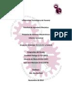 Informe Semestral Simulación y Control