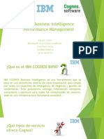 IBM Cognos Business Intelligence Performance Management
