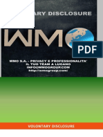 Voluntary DISCLOSURE ITALIA - WMO