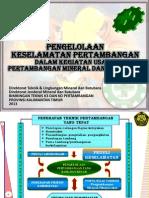Pengelolaan Keselamatan Pertambangan_KALTIM 2013.ppt