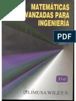 Matemáticas Avanzadas Para Ingeniería 1 (Kreyszing) - 3 Edición