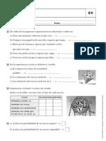 Matematicas 6º Anaya Evaluación UNIDAD 15