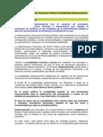 Tema 1 Administración Financiera Pública y Contabilidad Gubernamental