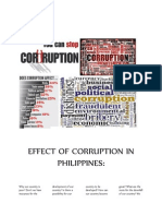 effect of corruption in philippines