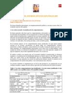 Resumen Del Informe jÓvenes EspaÑoles 2005