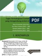 Farmakognosi Tugas Protein