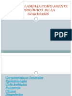 Giardia Presentacion