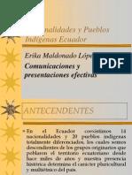 Nacionalidades y Pueblos Indigenas Del Ecuador