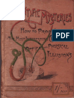 Chemistry - 1891 - Scientific Mysteries - Simple & Effective Experiments - How to Produce the Most Interesting Chemical,Physical,& Optic