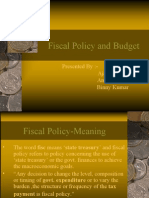 Fiscal Policy Final Prentation