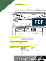 Cálculo de Puentes de Sección Compuesta-AASHTO-2010