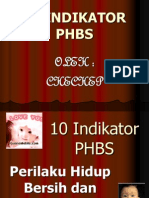 10 Indikator PHBS