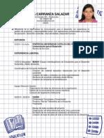 CV Fabiola Carranza