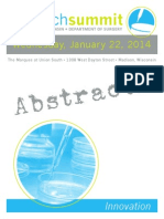 2014 Research Summit Abstract Book