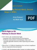 Negotiating Decent Wage New - ACTRAV-ILO