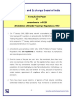 Consultive Paper on InsiderTrading