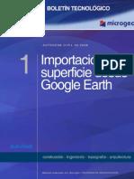 Boletin n1 Importacion de Superficies Desde Google Earth
