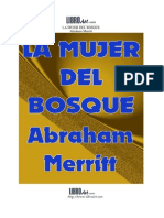 La Mujer Del Bosque - Abraham Merritt
