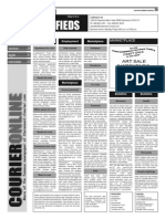 Claremont COURIER Classifieds 12-19-14