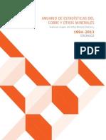 Cochilco Anuario 1994-2013