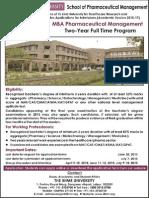 MBA- Pharma_IIHMR University