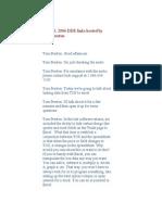 Sept 13 2006 DDE Links