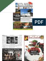 "Kuta Weekly-Edition 415 ""Bali""s Premier Weekly Newspaper"""